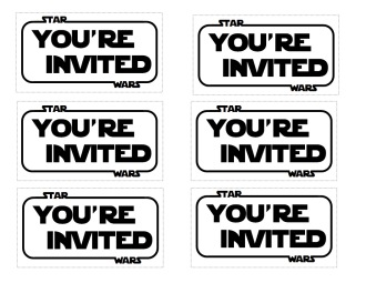 Star Wars Party Invites for beautiful invitation ideas